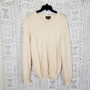 Club Room Cashmere V-Neck Sweater